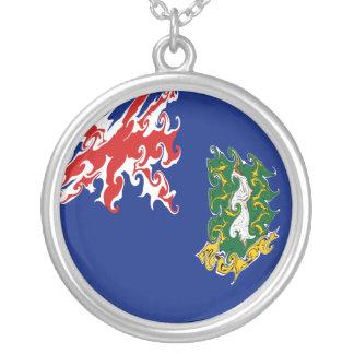 Drapeau des Îles Vierges britanniques Collier