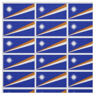 Drapeau des Marshall Islands Tissu