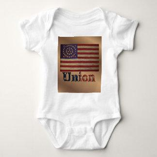 Drapeau des syndicats des Etats-Unis de cru rétro Body