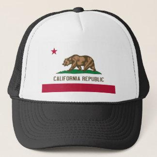 Drapeau d'état de la Californie Casquette