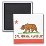 Drapeau d'état de la Californie Aimants Pour Réfrigérateur