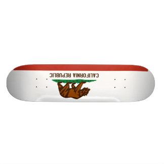 Drapeau d'état de la Californie Skateboard Customisable