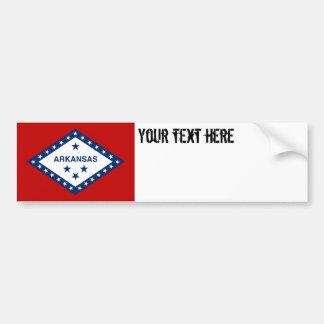 Drapeau d'état de l'Arkansas Autocollant Pour Voiture