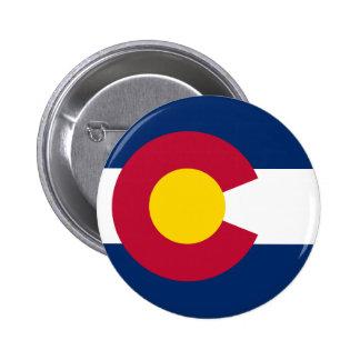 Drapeau d'état du Colorado Badges