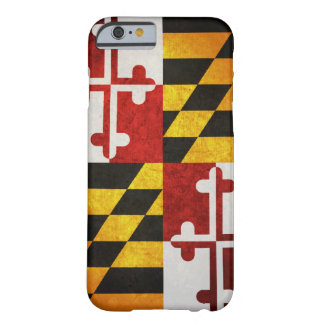 Drapeau d'état du Maryland Coque Barely There iPhone 6