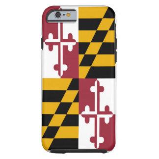 Drapeau d'état du Maryland Coque Tough iPhone 6