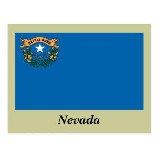Drapeau d'état du Nevada Cartes Postales