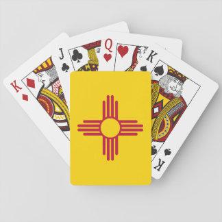 Drapeau d'état du Nouveau Mexique Jeu De Cartes