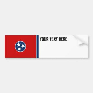 Drapeau d'état du Tennessee Autocollant Pour Voiture