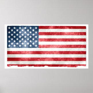 Drapeau d'étoile de l'Américain 50 sur le papier
