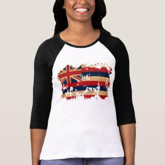 Drapeau d'Hawaï T-shirt