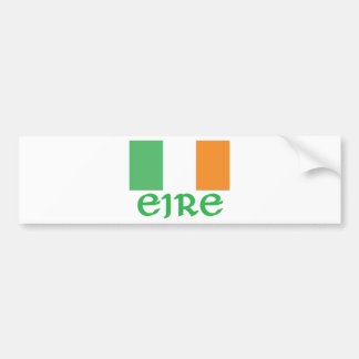 Drapeau d'Irlandais d'EIRE Autocollant De Voiture