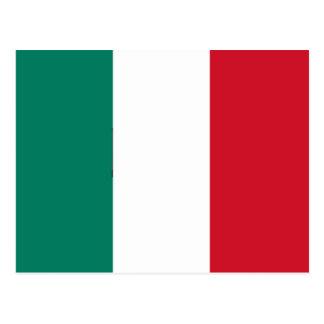 Drapeau d'Italien de l'Italie Cartes Postales