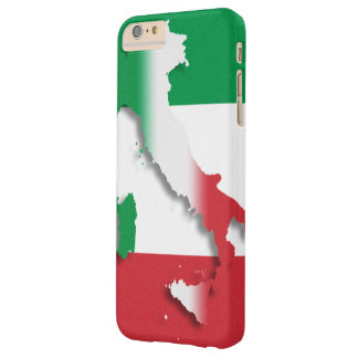 Drapeau d'Italien de l'Italie Coque Barely There iPhone 6 Plus