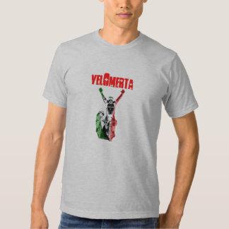 drapeau d'Italien de velomerta T-shirt