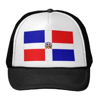drapeau dominicain casquettes