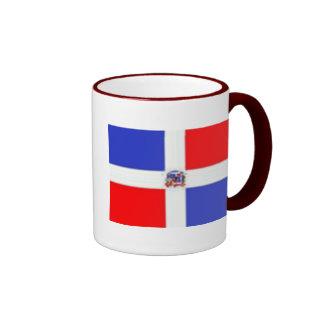 Drapeau dominicain, drapeau dominicain mug ringer