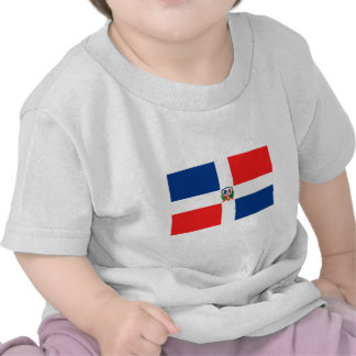 Drapeau dominicain t-shirt