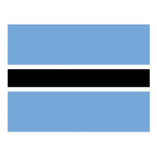 Drapeau du Botswana Carte Postale