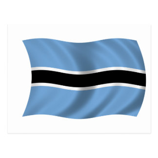 Drapeau du Botswana Cartes Postales