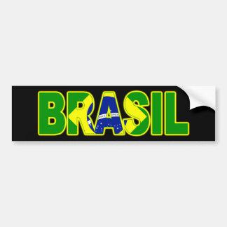 Drapeau du Brésil Autocollant De Voiture