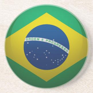 Drapeau du Brésil. Dessous De Verres