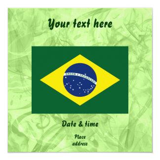 Drapeau du Brésil Faire-parts
