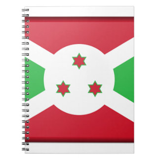 Drapeau du Burundi Carnet