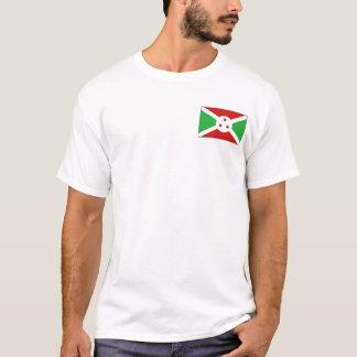 Drapeau du Burundi et T-shirt de carte