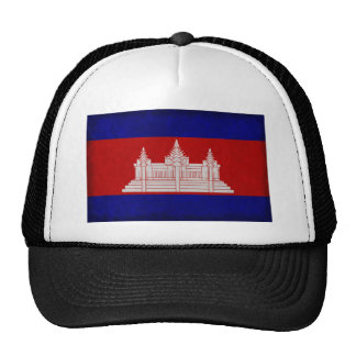 Drapeau du Cambodge Casquette De Camionneur