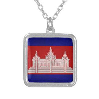 Drapeau du Cambodge Collier