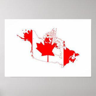 Drapeau du Canada Poster