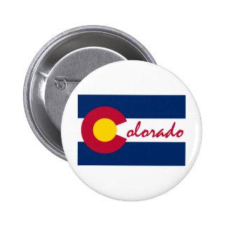 Drapeau du Colorado Badges