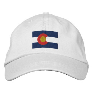 Drapeau du Colorado Casquette Brodée