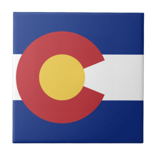 Drapeau du Colorado Petit Carreau Carré
