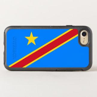 Drapeau du coque iphone de DR Congo OtterBox