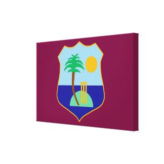 Drapeau du cricket des Antilles Toile
