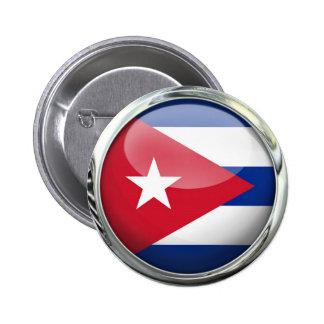 Drapeau du Cuba Badges