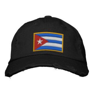 Drapeau du Cuba Casquette Brodée