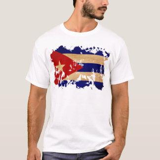 Drapeau du Cuba T-shirt