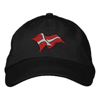 Drapeau du Danemark de drapeau du Danemark Dansk Casquette Brodée