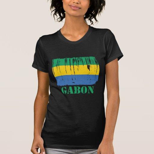 Drapeau du Gabon T-shirts
