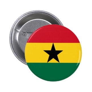 Drapeau du Ghana Badge