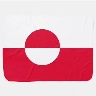 Drapeau du Groenland Couverture De Bébé