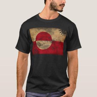 Drapeau du Groenland T-shirt