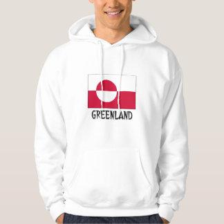 Drapeau du Groenland Veste À Capuche