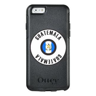 Drapeau du Guatemala simple Coque OtterBox iPhone 6/6s