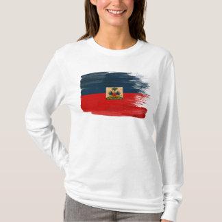 Drapeau du Haïti T-shirt