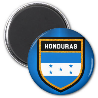 Drapeau du Honduras Magnet Rond 8 Cm
