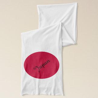 Drapeau du Japon ou de Hinomaru Écharpe Sheer d'American Apparel
